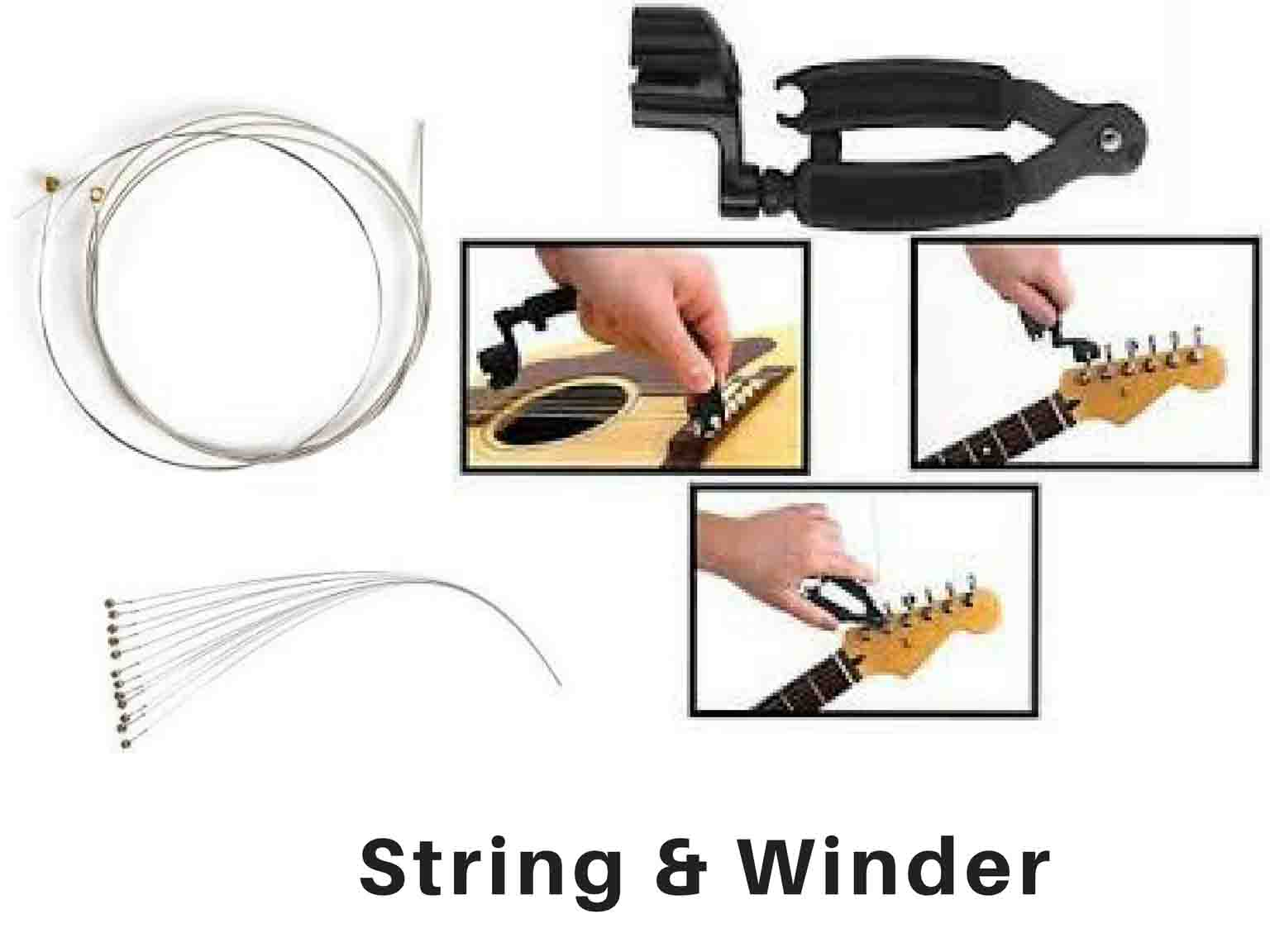 Buy Guitars String and Winder Online